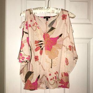 Express Floral Shirt